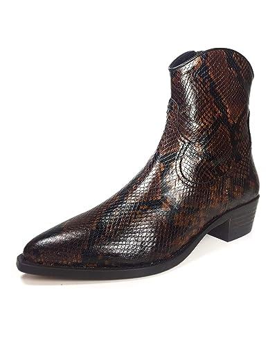 f5eb3989f75 Massimo Dutti Women's Animal Print Ankle Boots 1190/021: Amazon.co ...