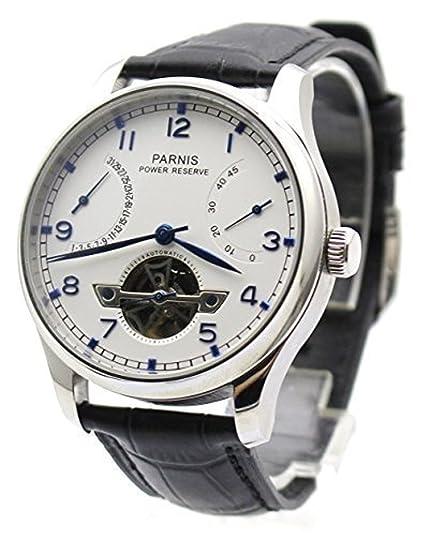 CursOnline® Elegante Reloj Clásico Hombre de gran calidad del famoso brand PARNIS Original PN809 con
