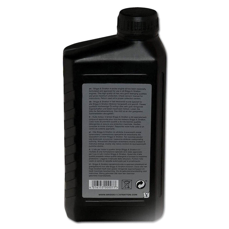 Briggs & Stratton Aceite, Negro, 1.0 Litro