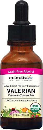 Eclectic Valerian officinalis O, Pink, 1 Fluid Ounce