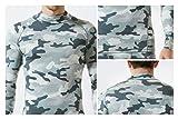 TSLA Men's Mock Long-Sleeved T-Shirt Cool Dry