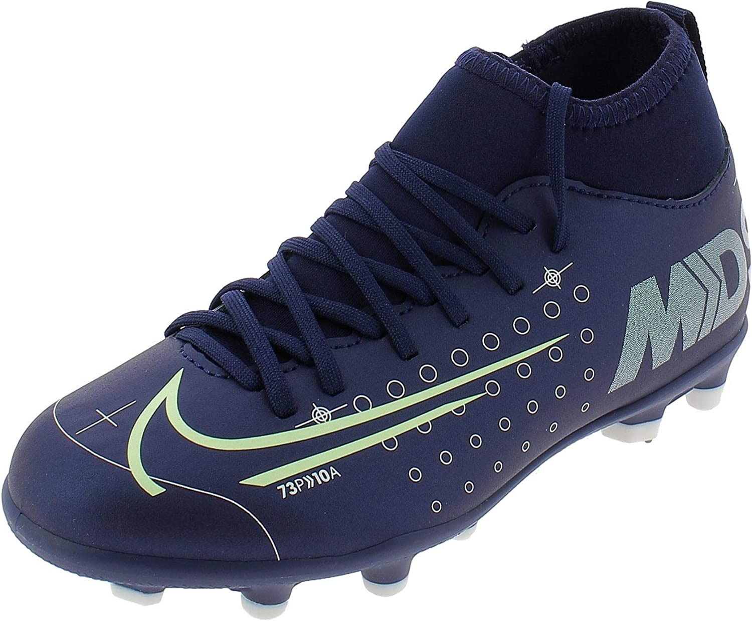 Dormido La oficina adjetivo  Amazon.com: Nike Jr. Mercurial Superfly 7 Club MDS MG Youth Soccer Cleats  (6) Blue: Shoes