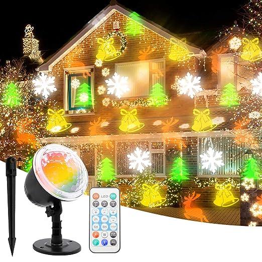 SmartHitech Luz de Proyector LED Temática de Navidad ...
