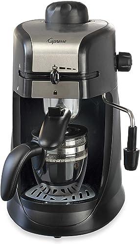 Capresso 304.01 Steam Pro 4-Cup Espresso Cappuccino Machine
