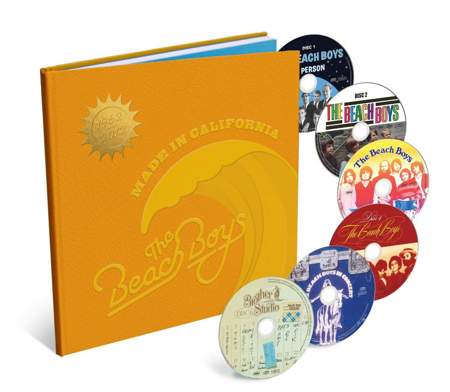 Made In California [6 CD Box Set] by CD