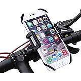 Fahrrad Handyhalterung - Kasos Universal 360 Grad drehbarer Fahrrad Motorrad Halter für Smartphone und GPS-Gerät