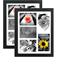 Tasse Verre 11x14 Collage Picture Frame - High Definition Glass Front Covered -...