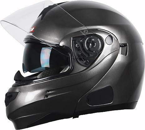 Vega Summit 30 Full Face Modular Helmet Titanium Xx Small