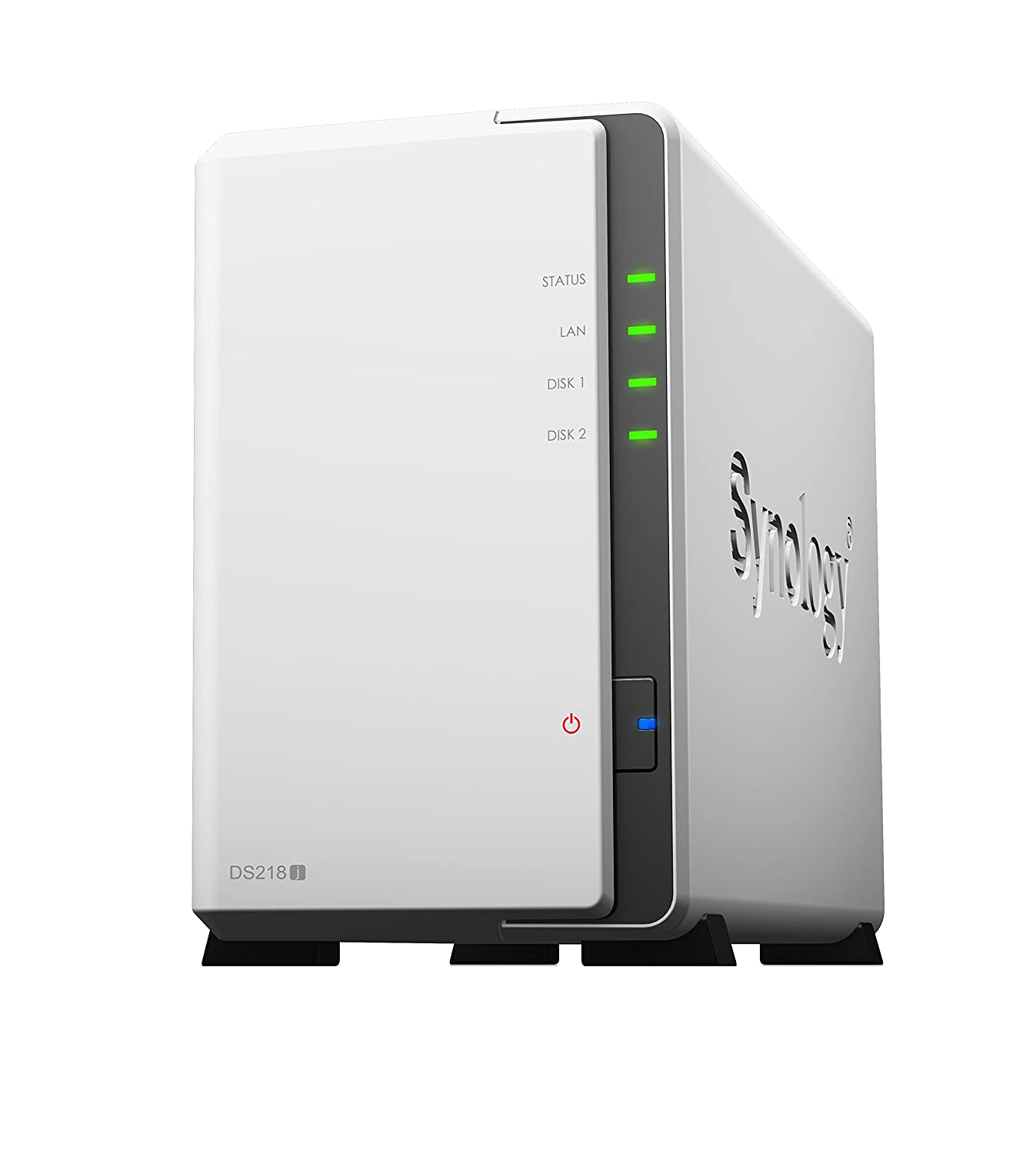 Synology DS218J/8TB-IWPRO 2 Bay NAS -