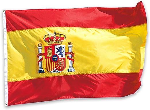 Naisdier Bandera España de 5 x 3 pies bandera de poliéster ...