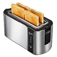 IKICH 4 Slice Long Slot Toaster