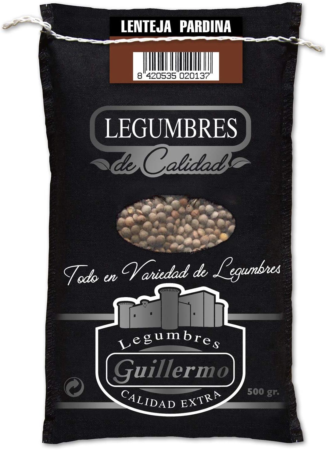 Guillermo Lenteja Pardina Franciscana Gourmet Calidad Extra Saco 500 g (LEGUGUI-2013)