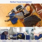 iPstyle Travel Foot Rest Pillow, Inflatable