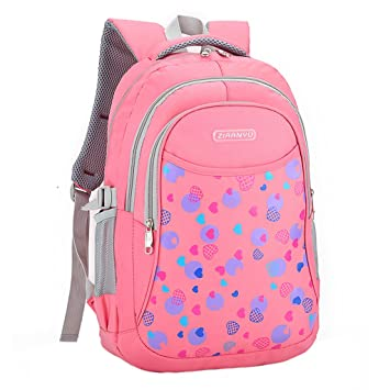 Girls Backpack School Bags Child Daypacks Waterproof Large Capacity Outdoor  Bag for Students  Amazon.co.uk  Baby 5783b3df70