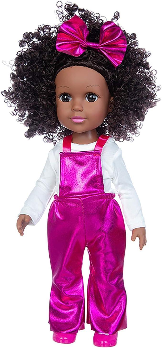 K.T. Fancy Baby Girl Doll (Black), 14.5