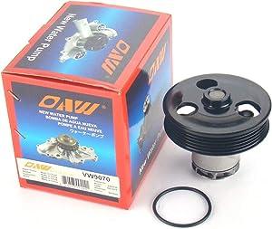 OAW VW9070 Engine Water Pump for 06-14 Volkswagen Beetle, 05-14 Jetta, 06-09 Rabbit, 10-14 Golf & 12-14 Passat 2.5L