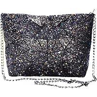 Magibag Women Rainbow Geometric Diamond Lattice Plaid Shoulder Bag Handbag Purse Female Tote Bags