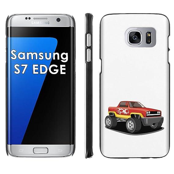 Truck Edge Mobile >> Amazon Com Samsung Galaxy S7 Edge Phone Cover Monster Truck