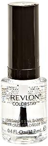 REVLON Colorstay Nail Enamel, Top Coat, 0.4 Fluid Ounce