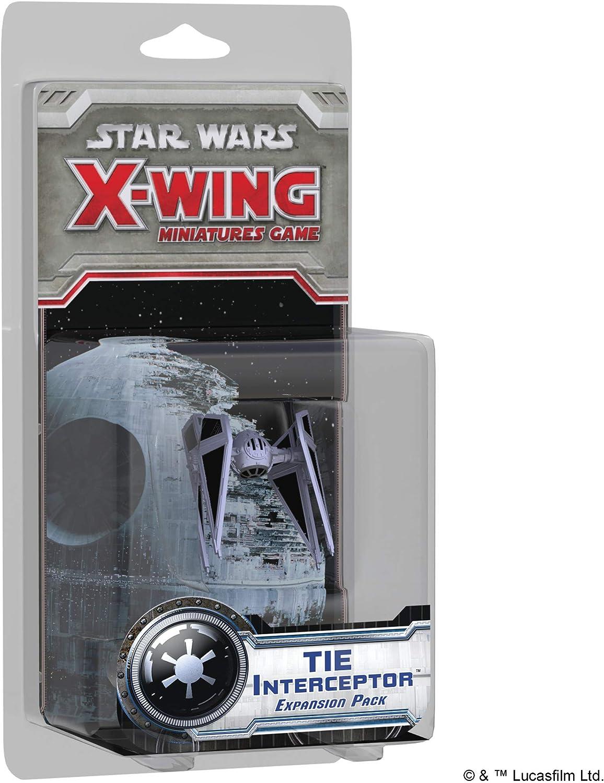 Star Wars Edge X-Wing - Tie Interceptor Expansion Pack: Aa.Vv: Amazon.es: Juguetes y juegos