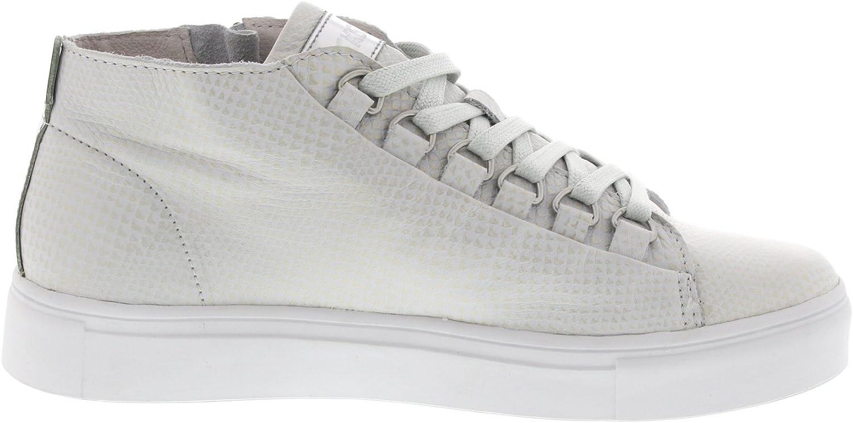 Blackstone Mid Sneaker - NL28 White Metallic