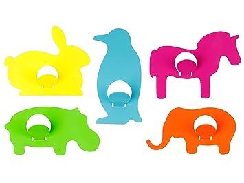 Amazon.com: J.I.P. animales perchero, varios diseños de ...