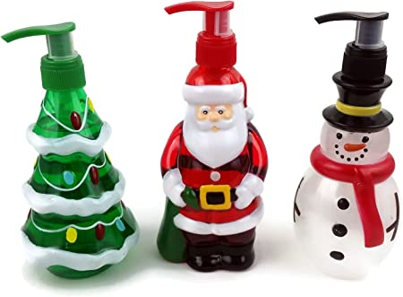 Vacaciones dispensadores de jabón de manos Trio. La Navidad Con La ...