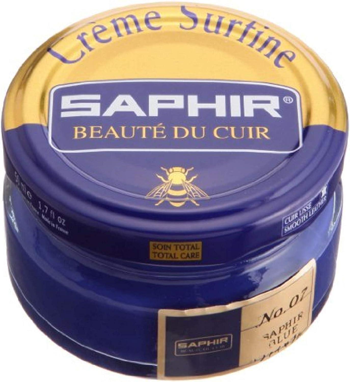 Saphir Creme Surfine Pommadier Shoe Polish 50ml - Black: Shoes