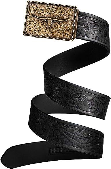 Mission Belt Men/'s Leather Ratchet Belt