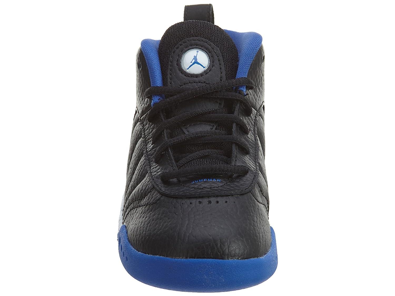 Jordan Boy's Jumpman Pro Basketball Shoes B00R3SF1LA 9 M US Toddler Black Varsity Royal S