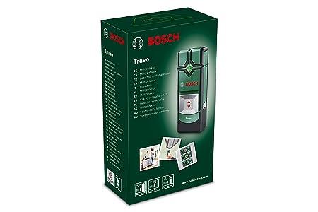 Bosch Truvo - Detector digital (3 pilas AAA, profundidad de detección máx.: 70 mm, estuche)