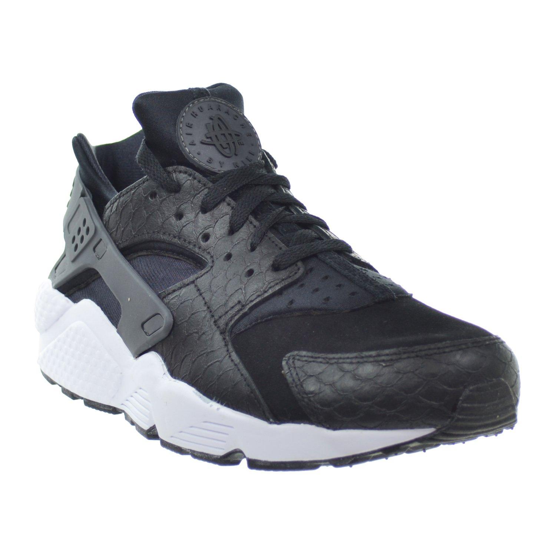 online retailer 18fe2 b84e6 Amazon.com   Nike Air Huarache Run PRM Men s Shoes Black Dark Grey White  704830-001 (9.5 D(M) US)   Running