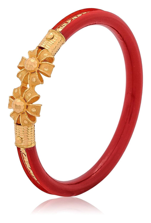 Buy Senco Gold Aura Collection 22k Yellow Gold Bangle Online at ...