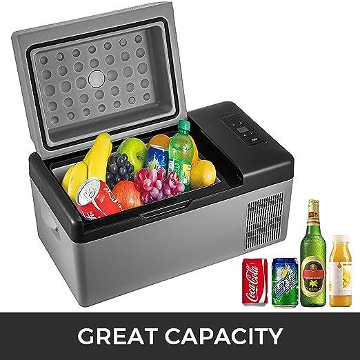 20L compresor portátil pequeño refrigerador del Coche Refrigerador ...