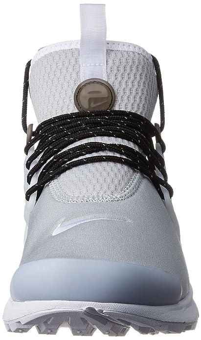 Nike - Air Presto Mid Util - 859524005 - Couleur: Gris-Noir - Pointure: 41.0 HkFOMYGs