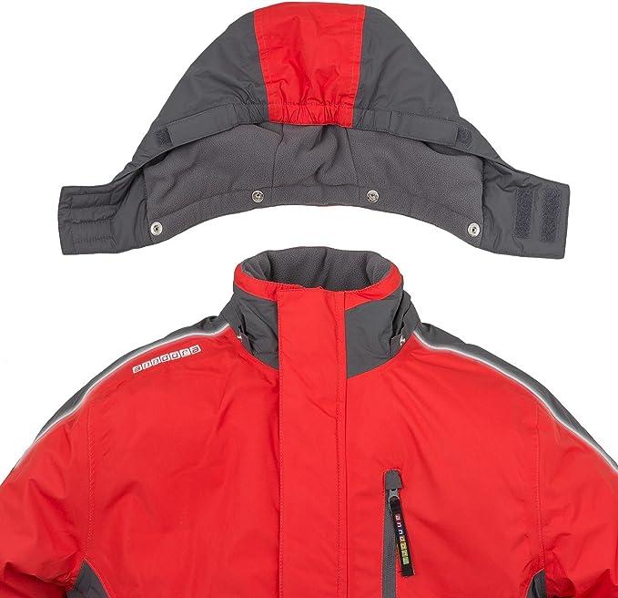 Skianzug Gr 128 Mädchen Skijacke Rot Skihose Rot wasserabweisend warm anndora
