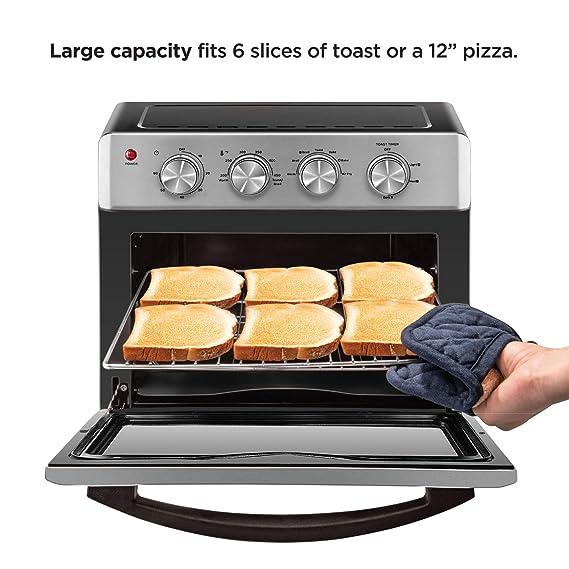 Amazon.com: Chefman - Freidora de aire para horno, 6 ...