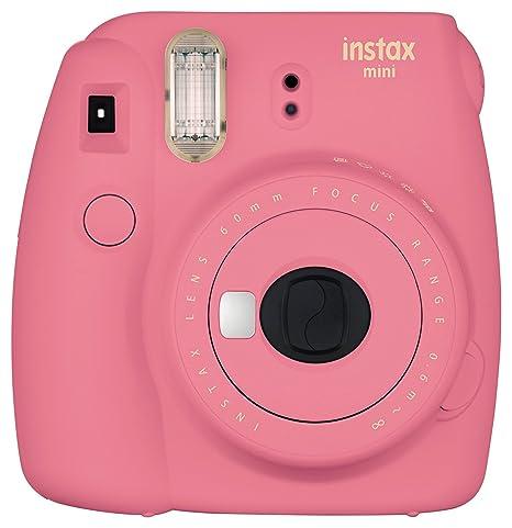 Fujifilm Instax Mini 9 Instant Camera - Flamingo Pink Instant Cameras at amazon