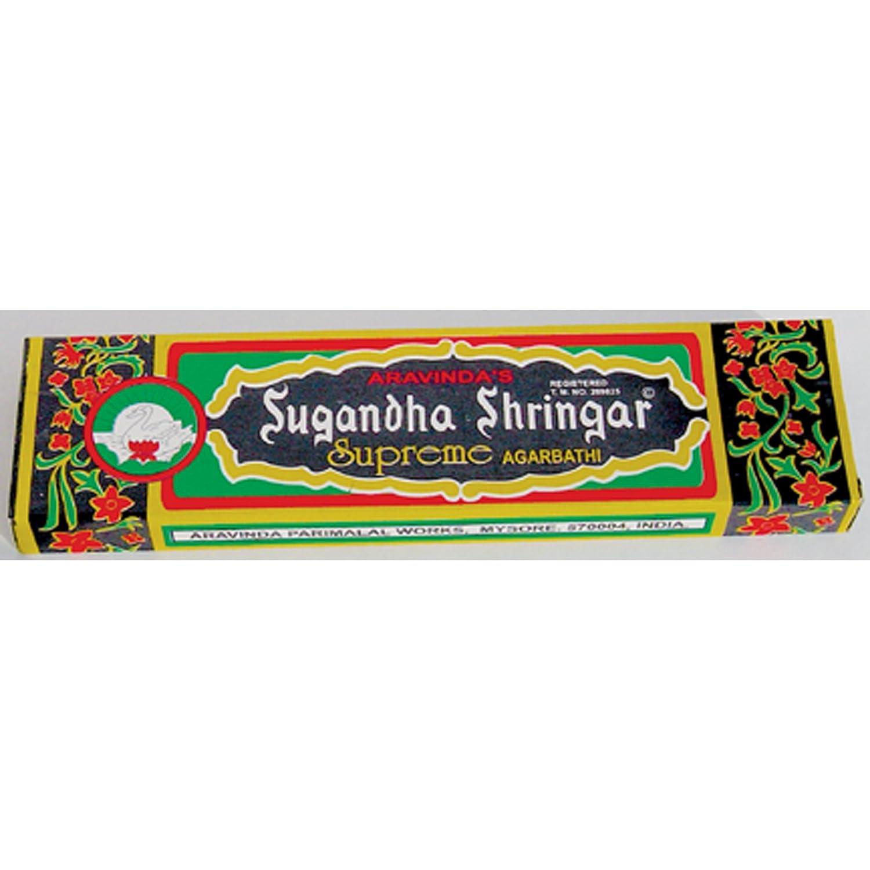 【新品本物】 Sugandha Sugandha Shringar Supreme Incense – Traditionalパッケージ – – – Largeボックス B00E6DMA6O, サクライ貿易:64380930 --- a0267596.xsph.ru