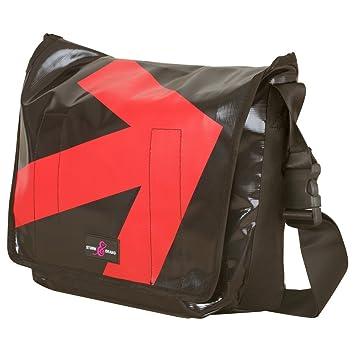 7560cbb1d5 Sturm   Drang Messenger Bag Courier Bag made of Heavy Duty Truck Tarpaulin   Amazon.co.uk  Luggage