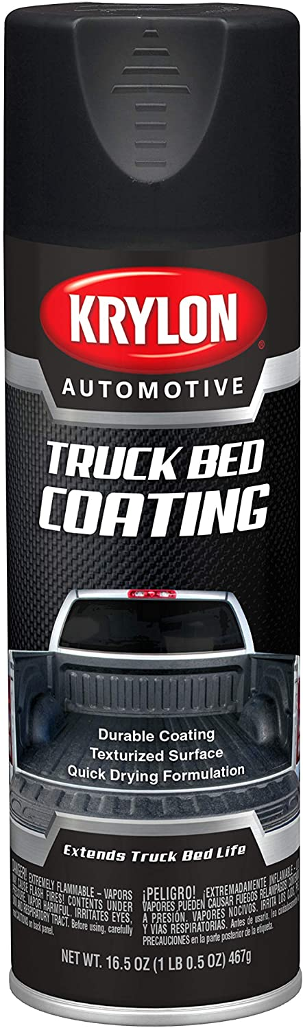 Krylon Automotive Black Truck Bed Coating