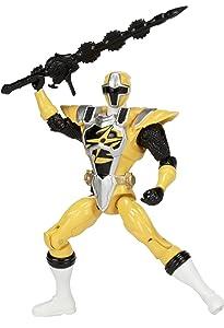Power Rangers Ninja Steel 5-Inch Ninja Master Mode Yellow Ranger Figure