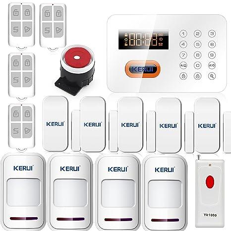 KERUI PSTN 120 Zonas Touch teclado Wireless Home alarma ...
