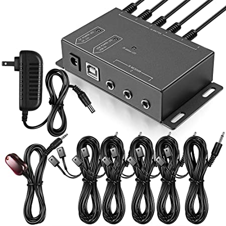 Amazon Com Infrared Repeater System Ir Repeater Kit Control Up To