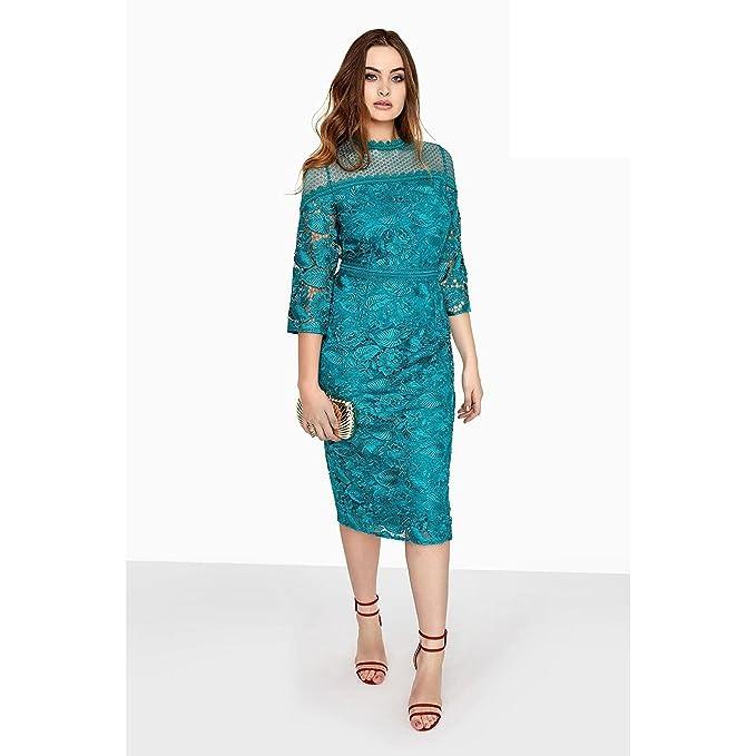 Modelos de vestidos de promocion verde jade