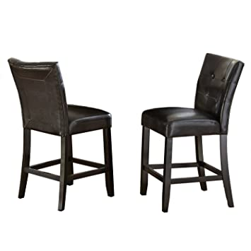 Steve Silver Company Monarch Counter Chair (Set Of 2), 19u0026quot; X 25u0026quot
