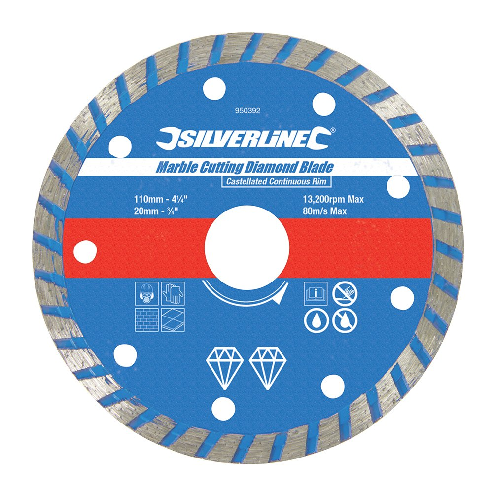 Silverline 950392 Marble Cutting Blade