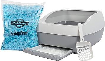 Amazon.com: PetSafe Deluxe sistema de caja de arena de ...