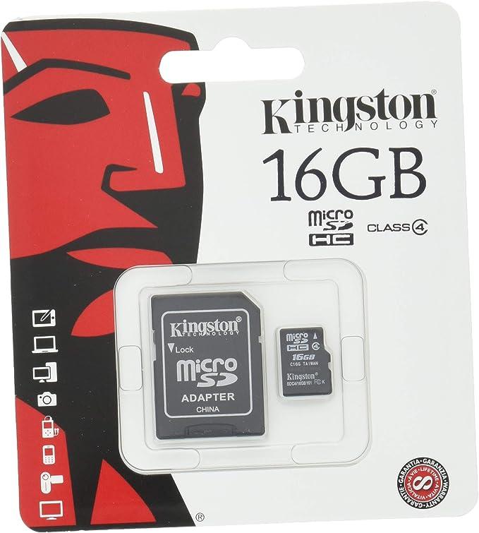 Kingston Sdc4 16gb Micro Sdhc 16gb Bis Zu 4mb Computer Zubehör
