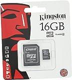 キングストン Kingston microSDHC カード 16GB クラス 4 アダプタ付 SDC4/16GB 永久保証